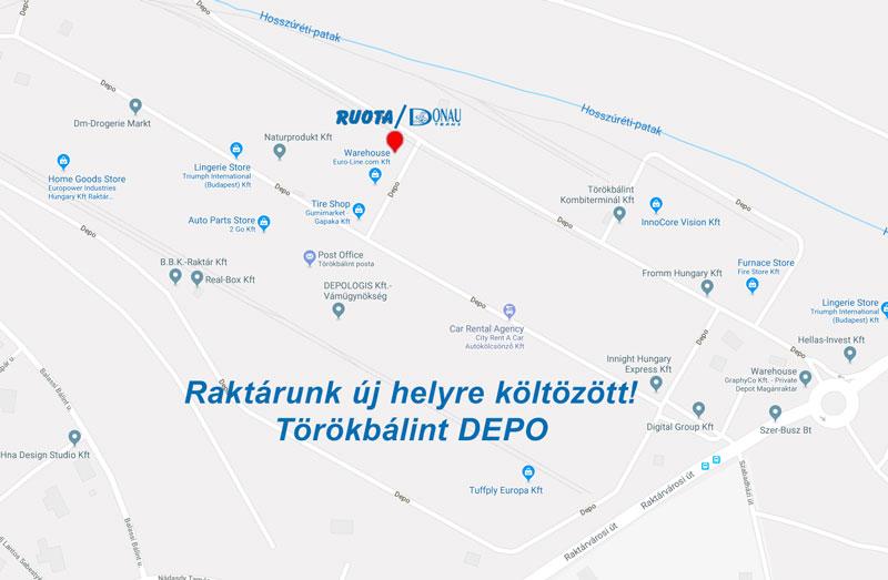 Donau-térkép